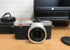 Leica X2 16.1MP Digital Camera Silver with Elmarit 24/2 Lens Excellent with EVF