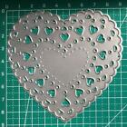 Heart Shape Metal Cutting Dies Stencil Scrapbooking DIY Album Stamp Paper Cards