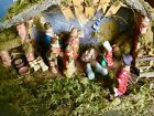 Special Times 16 Pc Large Lighted Wood Manger Accessory Set  9 PC Nativity