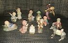12 Pc Goebel HUMMEL Nativity Set Figurines + 1 Vintage 1964 Flying Angel 366
