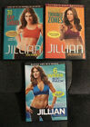 Jillian Michaels 30 DAY SHRED NO MORE TROUBLE ZONES 6 WEEK 6 PACK Lot of 3