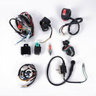 ATV Quad Wiring Harness CDI Stator 5 Pins Ignition For 50CC 125CC Four Stroke