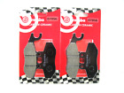 07056 Brake Pads Brembo Front+Rear Gilera Nexus 300 from 2011