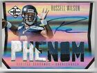 RUSSELL WILSON 2012 PANINI LIMITED ROOKIE AUTO AUTOGRAPH PATCH RC CARD #23 299!