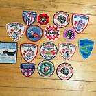 Lot of 16 Vintage Snowmobile Patches Patch Ski Doo Racing Arctic Cat and more