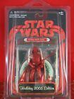 Hasbro Star Wars 2005 HOLIDAY EDITION Holiday Darth Vader RED Action Figure