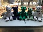 retired beanie babies lot- halo, Erin(w/ errors) princess Diana, shamrock, gift