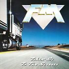 FM - CD - Takin' It To The Streets - 1991 Music For Nations CDMFN 119  (French)