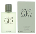 Acqua Di Gio by Giorgio Armani 3.4 oz / 100 ml EDT Spray for Men New
