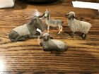 Willow Tree Sheltering Animals for Holy Family Figurines 4 Piece Set Lordi