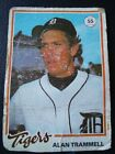 Top 10 Alan Trammell Baseball Cards 16