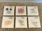 Close To My Heart CTMH Stamps LOT 6 Petite Perks CHRISTMAS Winter Holidays