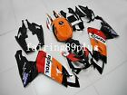 Orange Black Red Repsol ABS Injection Fairing Kit Fit for Aprilia RS125 2007-10