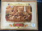 Large 1999 Collector Edition Grandeur Noel 9 Piece Porcelain Xmas Nativity Set