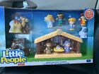 Fisher Price Little People Children Nativity Set 11 Pieces Christmas
