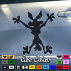 Wile E Coyote Vinyl decal for cars truck toolbox window sticker JDM Drift 134