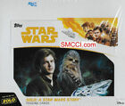 STAR WARS SOLO Series 2018 Topps Factory Sealed 24 Pack Retail Box 144 Cards