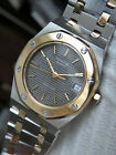 Vintage rare Swiss Fortis King Lear watch mid size Royal Oak homagesteel gold