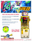 Pop it for Gold redemption arcade game from Benchmark Games