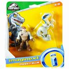 Owen & Blue Jurassic World Imaginext Figures 2.5