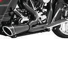 Freedom Performance 2 1 Black Shorty Pipe Full Exhaust System Harley 91 05 FXD