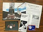 1989 NASA Hubble Space Telescope Brochure Poster News Article and vintage Decal