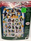 Dimensions Christmas NATIVITY ADVENT CALENDAR Felt Applique Kit 8149 NIP