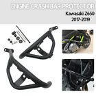 Bumper Engine Guard Crash Bar Protector Set for Kawasaki Z650 Z 650 2017-2019