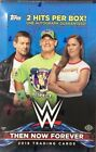 2018 TOPPS WWE THEN, NOW, FOREVER WRESTLING HOBBY BOX FACTORY SEALED NEW