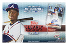 2018 TOPPS CLEARLY AUTHENTIC BASEBALL HOBBY BOX FACTORY SEALED NEW