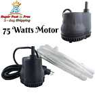 Electric Swimming Pool Cover Drain Pump Machine Black 110 Volt 600 GPH