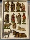 Vintage Kauders Germany Breithaupt Nativity set 13 figures