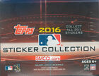 2016 Topps MLB Baseball Sticker Collection Unopened Box 50 Packs 400 Stickers