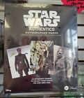 2019 TOPPS STAR WARS AUTHENTICS PHOTO & TRADING CARD HOBBY BOX FACTORY SEALED