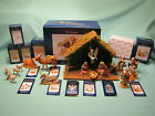 FONTANINI BY ROMAN HEIRLOOM NATIVITY SCENE 5 COLLECTION 18 PIECES