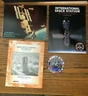 NASA 1984 Space Station Freedom Photo ISS 20th Anniv Book MSFC Book and Decal