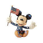 Jim Shore Mini Patriotic Mickey Mouse Disney Traditions 4056743 NEW Free Ship