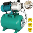 1 HP Shallow Well Jet Pump W Pressure Switch 123 GPM Booster Water 2800L H