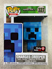 Funko Pop! Games #327 Minecraft Charged Creeper Gamestop Exclusive 2018