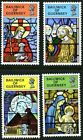 GUERNSEY 1973 CHRISTMAS SET OF ALL 4 COMMEMORATIVE STAMPS MNH H