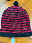Hats Handmade ADULT XL Size Crocheted Colorful Beanies Fast Shipping