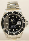 MEN'S ROLEX SUBMARINER 16610 WITH STAINLESS STEEL BAND! EXCEPTIONAL! D18