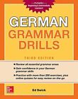 NEW German Grammar Drills Third Edition by Swick Ed