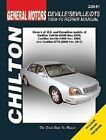 Repair Manual fits 1999-2010 Cadillac DeVille Seville DTS  CHILTON BOOK COMPANY