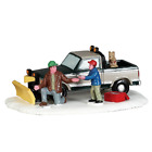 Lemax Vail Village Collection Christmas Snow Plow Set Up #53224 Truck