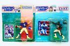 Lot of NFL Starting Lineup Figure 1994 Phil Simms & 1997 Rickey Watters