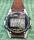 Vintage Timex Atlantis 100 Indiglo Chronograph Alarm Timer Water Resistant Watch