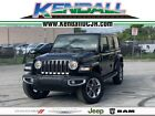 2020 Jeep Wrangler Unlimited Sahara 2020 Jeep Wrangler Unlimited Sahara 20 Miles Black Clearcoat 4D Sport Utility 2.