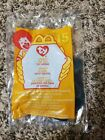 Mcdonalds 2000 Ty Teenie Beanie baby #15 Sting The Ray Stingray NIP