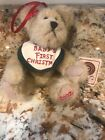Boyds Bear Babykins 2002 Baby's First Christmas Jointed Plush Bear 562427 Tags